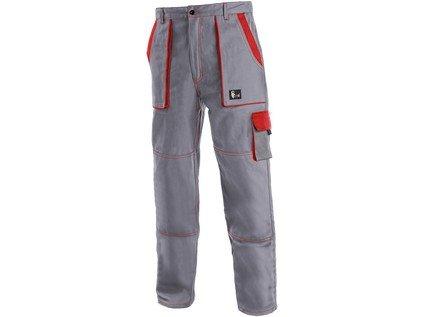 Nohavice do pásu CXS LUXY JOZEF, šedo-červené 2 - Brakon s.r.o