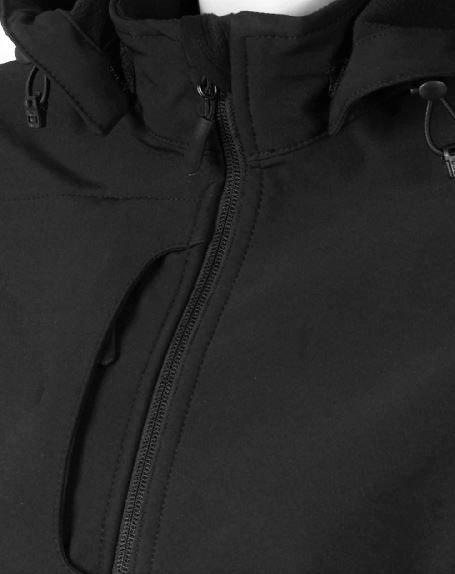 Bunda dámska softshell, odnímateľná kapucňa - 0706 - K 13 - Brakon s.r.o