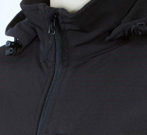 Bunda pánska softshell, odnímateľná kapucňa - 0606 - K 14 - Brakon s.r.o