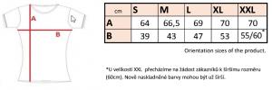 LT07 - DÁMSKE TRIČKO KRÁTKY RUKÁV 16 - Brakon s.r.o
