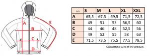 Bunda dámska softshell šport farebný zips - SJL25 8 - Brakon s.r.o