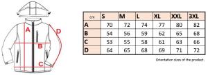Bunda pánska softshell, odnímateľná kapucňa - 0606 - K 17 - Brakon s.r.o