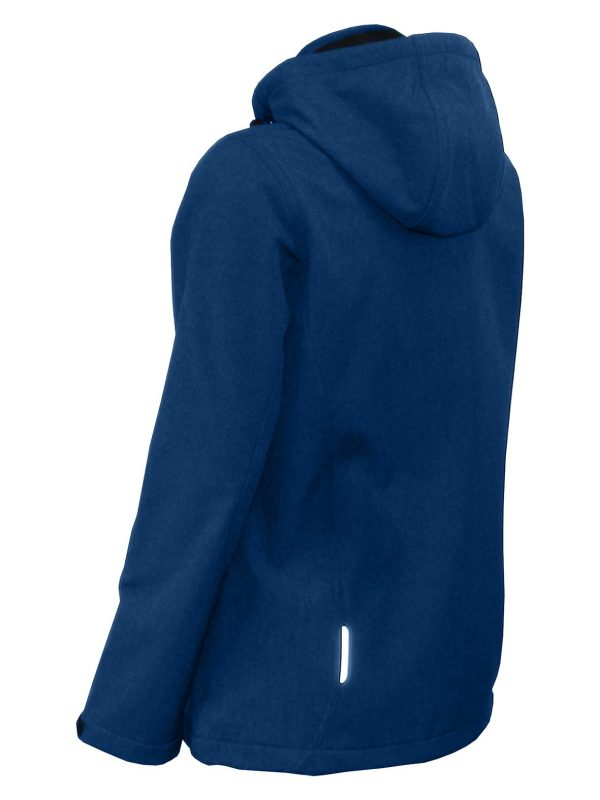 Bunda dámska softshell, odnímateľná kapucňa - 0706 - K 6 - Brakon s.r.o