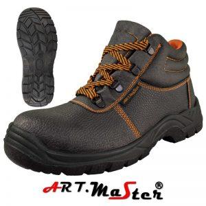 BTPuS3B Pracovná obuv s oceľovou špicou a oceľovou stielkou 5 - Brakon s.r.o