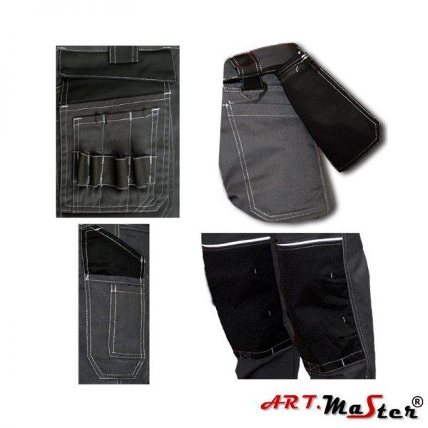 Nohavice do pásu MONTÉR - Grey 7 - Brakon s.r.o