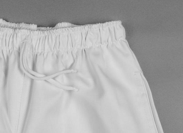 Biele nohavice dámske, v páse celogumové, FA 104 6 - Brakon s.r.o