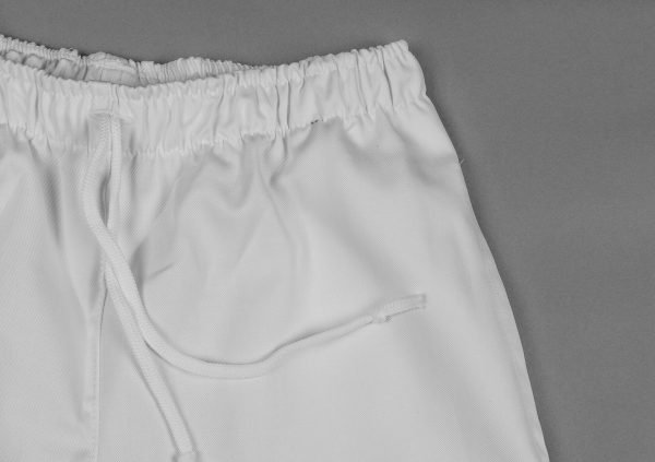 Biele nohavice dámske, v páse celogumové, FA 104 5 - Brakon s.r.o