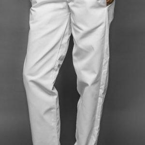 Biele nohavice dámske, v páse celogumové, FA 104 4 - Brakon s.r.o