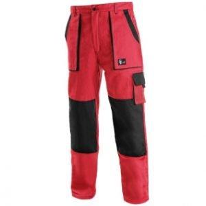 Nohavice do pásu CXS LUXY JOZEF, červeno-čierne 7 - Brakon s.r.o