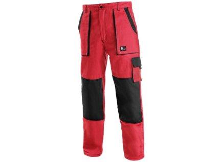 Nohavice do pásu CXS LUXY JOZEF, červeno-čierne 3 - Brakon s.r.o