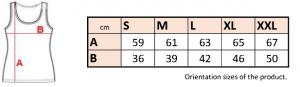 LT402 - Dámske elastické tielko 11 - Brakon s.r.o