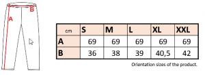 FK 75 - dámske 3/4 legíny 8 - Brakon s.r.o