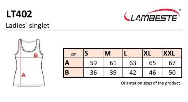 LT402 - Dámske elastické tielko 10 - Brakon s.r.o