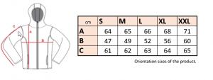 Dámska mikina pletený fleece so zipsom a kapucňou LS19- cena bez DPH 12 - Brakon s.r.o