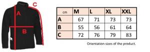 Pánska mikina fleece so zipsom 0808 - cena bez DPH 10 - Brakon s.r.o