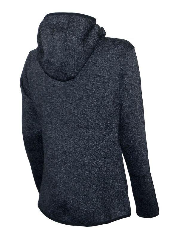 Dámska mikina pletený fleece so zipsom a kapucňou LS19- cena bez DPH 5 - Brakon s.r.o