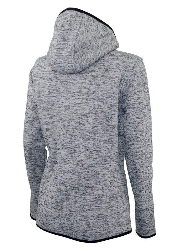 Dámska mikina pletený fleece so zipsom a kapucňou LS19- cena bez DPH 7 - Brakon s.r.o