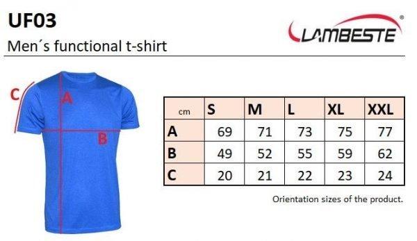 Pánske funkčné tričko - UF3- cena bez DPH 10 - Brakon s.r.o