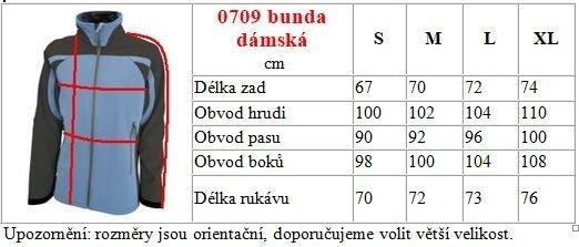 Dámska softshelová bunda 0709 4 - Brakon s.r.o