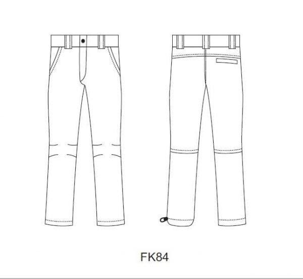 Dámske nohavice FK84 3 - Brakon s.r.o