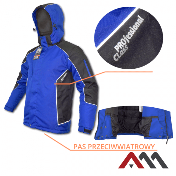 Dlhá modrá bunda PROFESSIONAL - cena bez DPH 4 - Brakon s.r.o