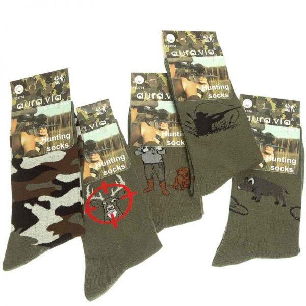 Ponožky pre poľovníka/5 párov - Cena bez DPH 3 - Brakon s.r.o