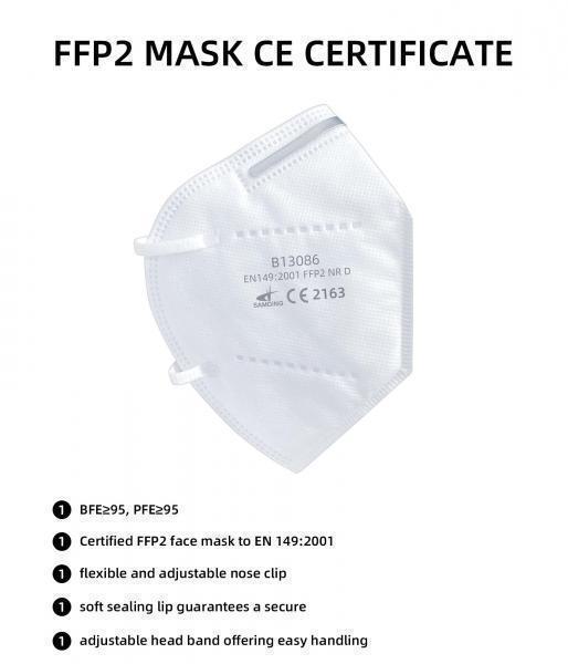 Respirátor biely FFP2 - 0,37/ks pri odbere 1200ks 3 - Brakon s.r.o